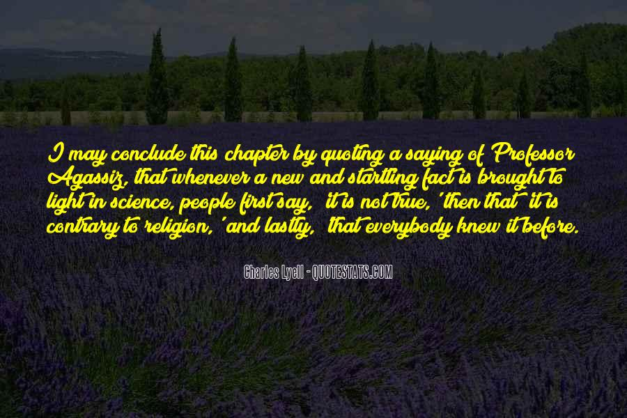 Lyell Quotes #1716604