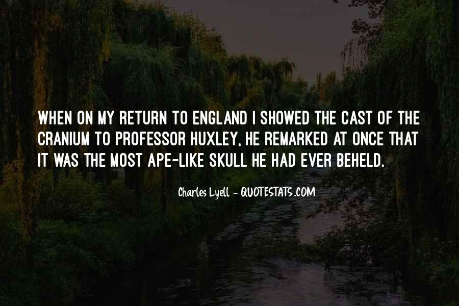 Lyell Quotes #642357