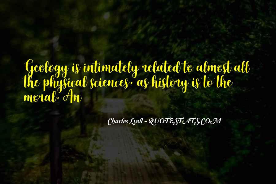 Lyell Quotes #73462
