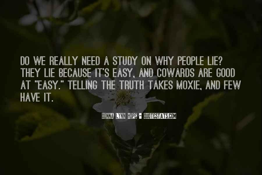 Lying Cowards Quotes #213041