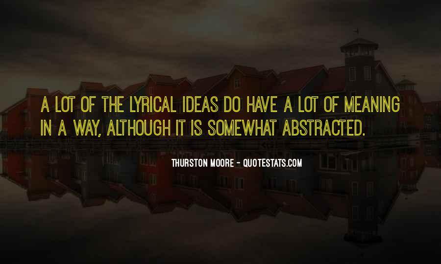 Lyrical Quotes #110142