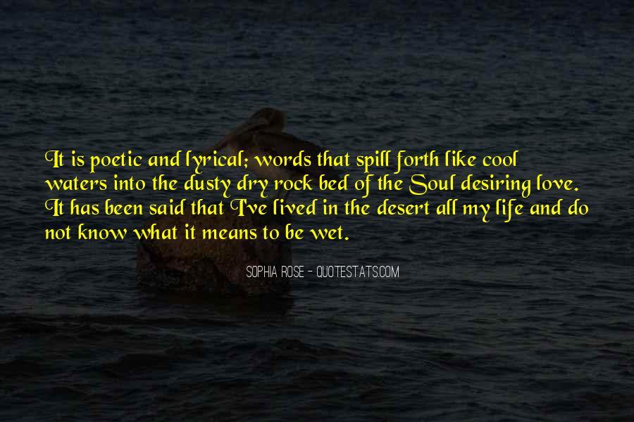 Lyrical Quotes #335638