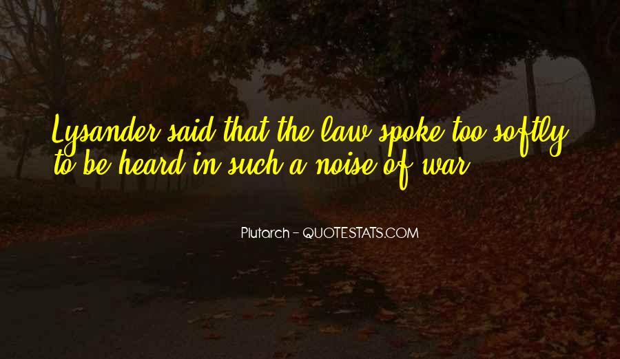 Lysander Quotes #1250541