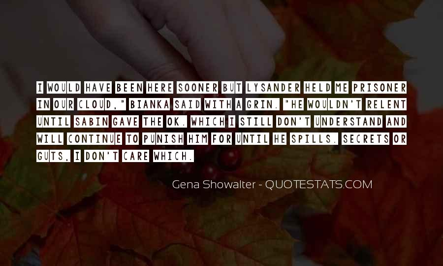 Lysander Quotes #168598