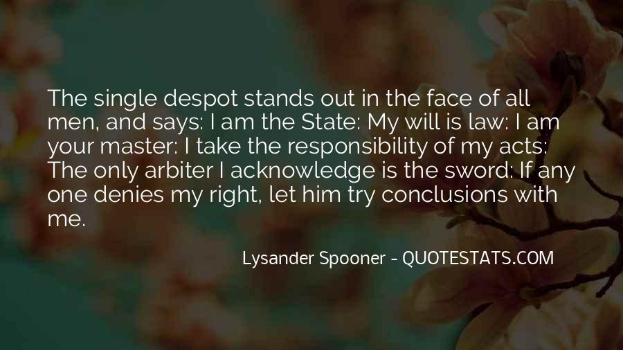 Lysander Quotes #1687472