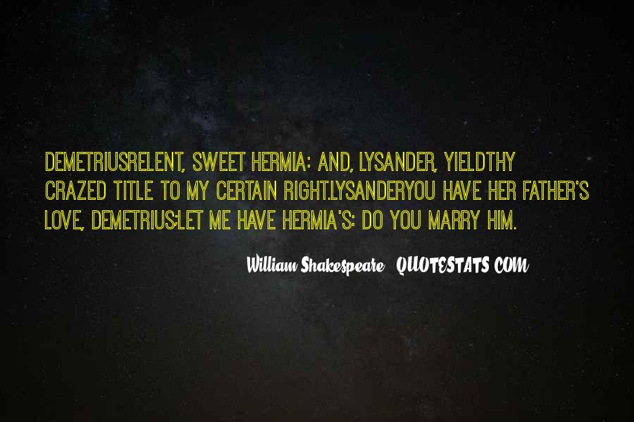 Lysander Quotes #1717023