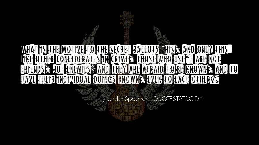Lysander Quotes #1721888