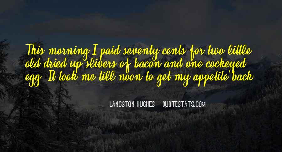 M Langston Quotes #110939