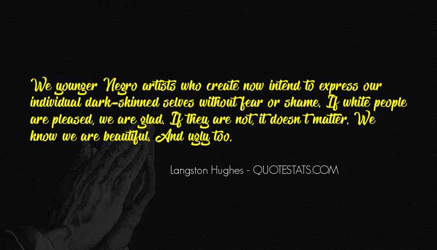M Langston Quotes #131049