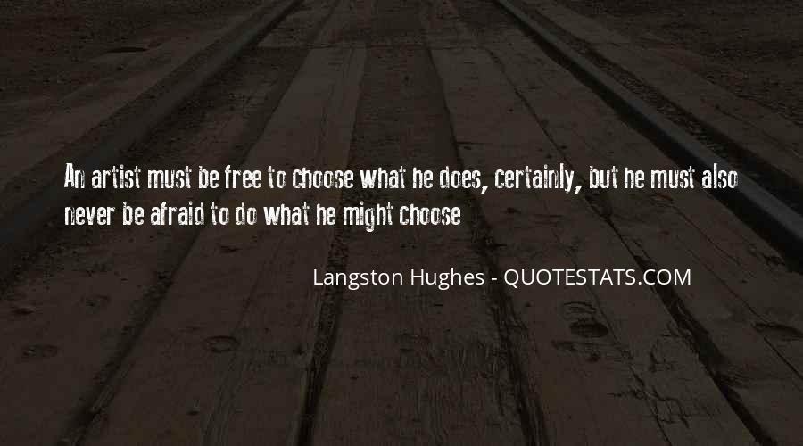 M Langston Quotes #135874