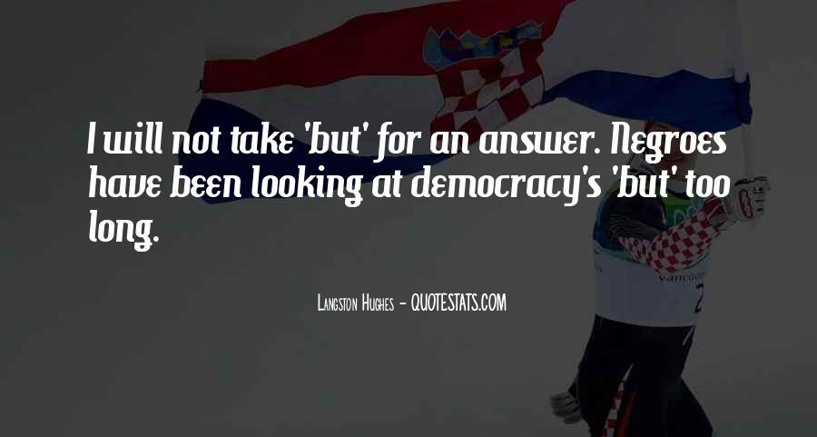 M Langston Quotes #142420