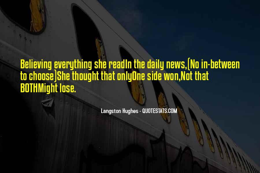 M Langston Quotes #158335