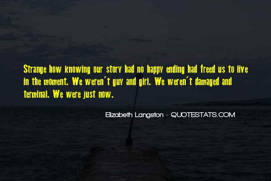 M Langston Quotes #186695