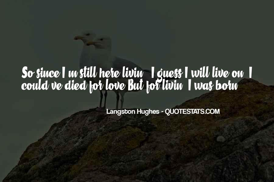 M Langston Quotes #219854