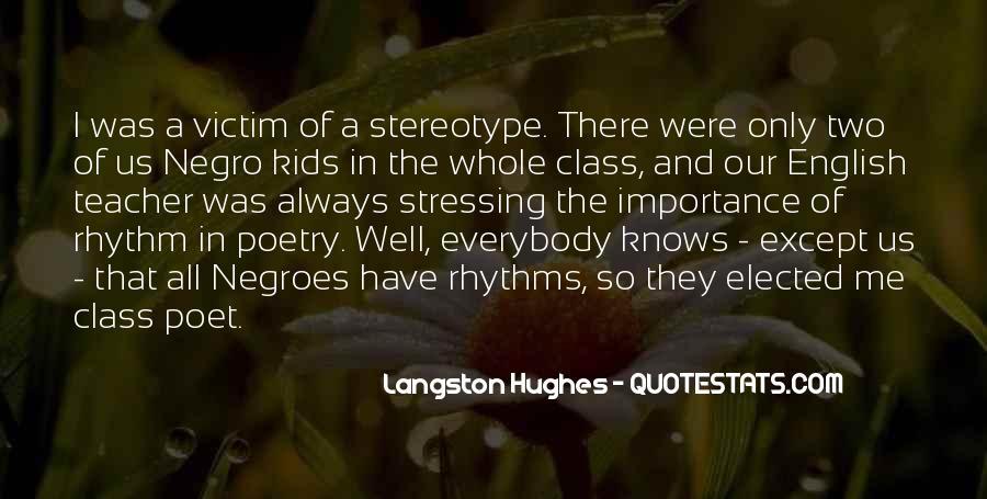 M Langston Quotes #222566