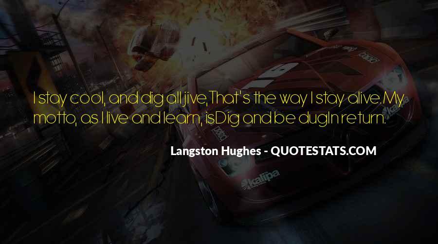 M Langston Quotes #227785