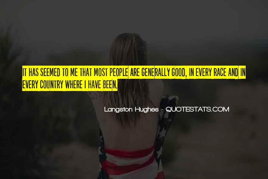 M Langston Quotes #300877