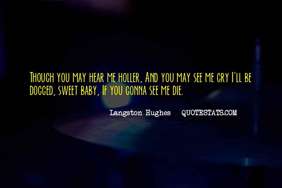 M Langston Quotes #355631