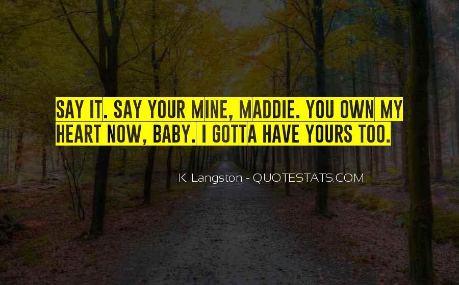 M Langston Quotes #37031