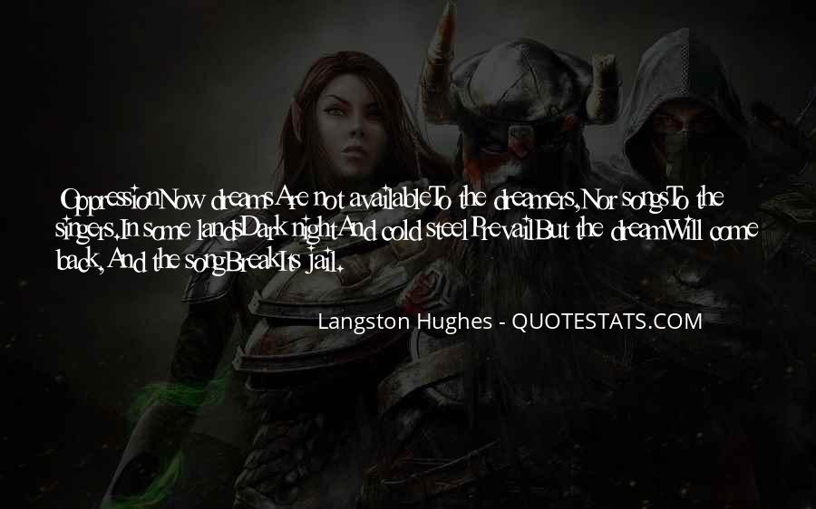 M Langston Quotes #380814