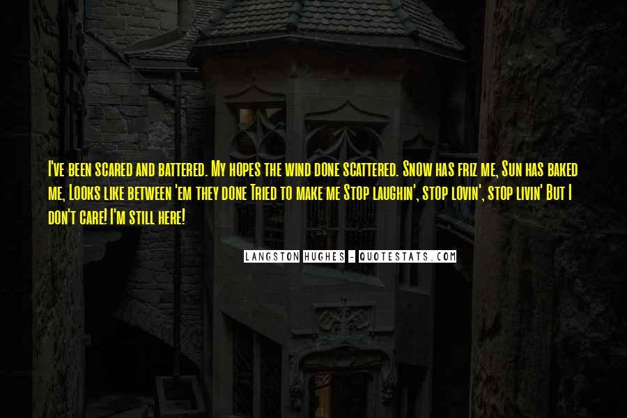 M Langston Quotes #393565