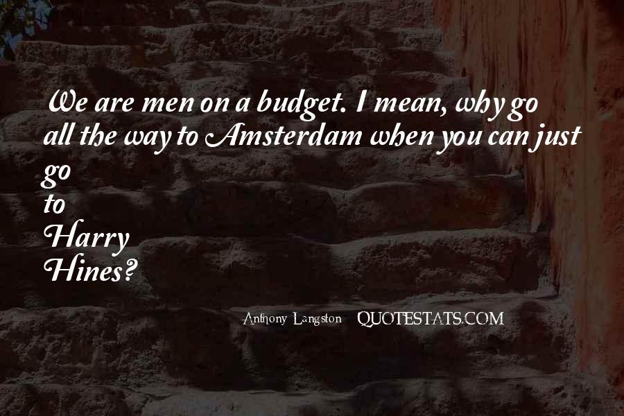 M Langston Quotes #415356