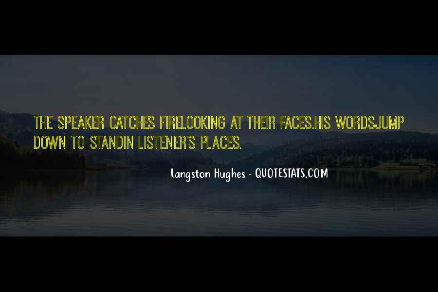 M Langston Quotes #583181