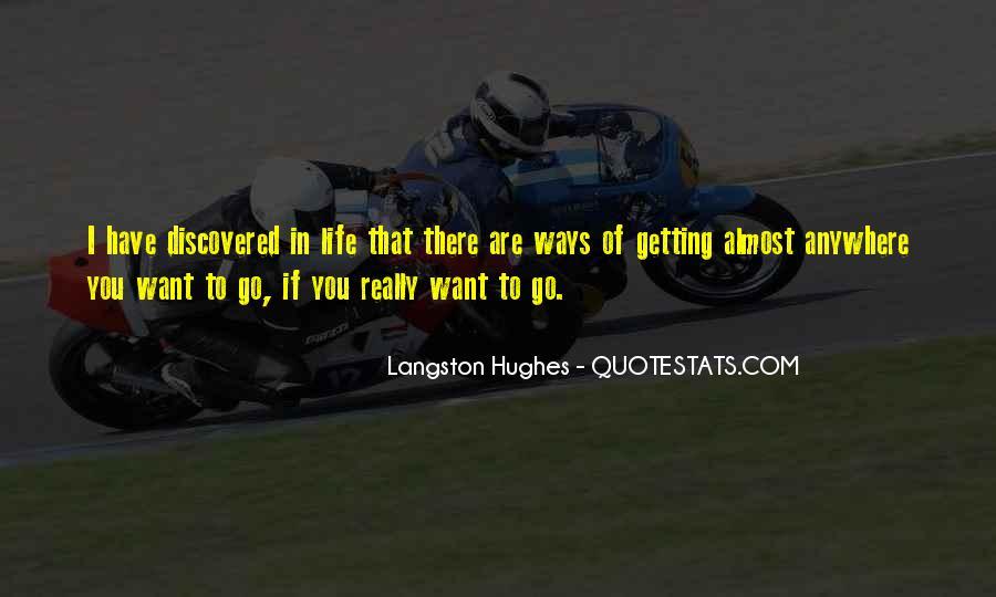M Langston Quotes #655103