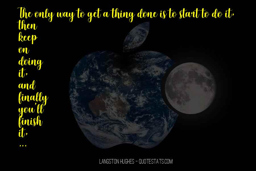 M Langston Quotes #663985