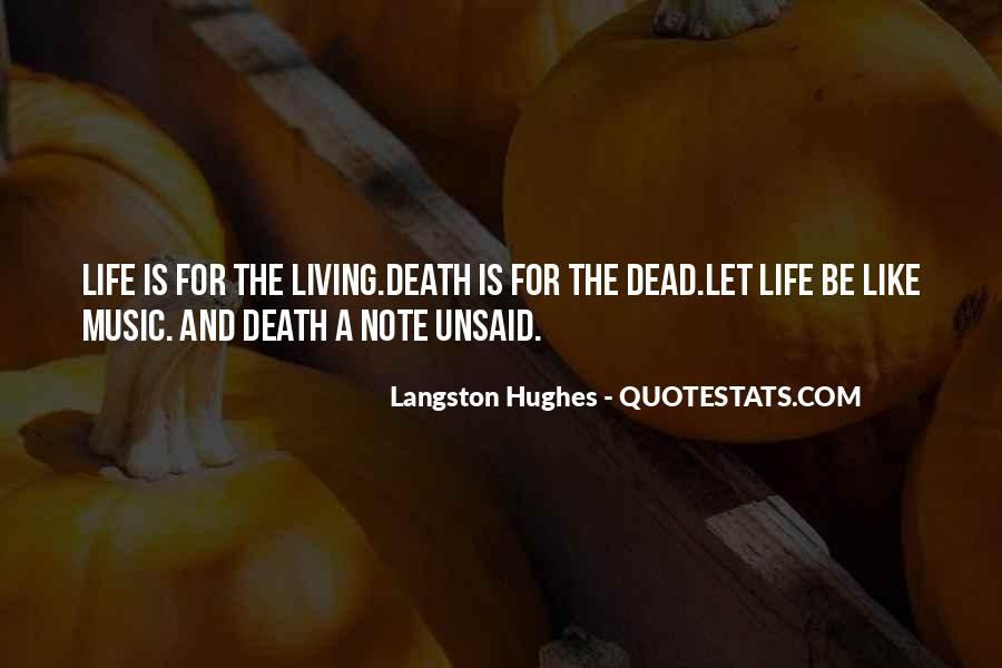 M Langston Quotes #704892