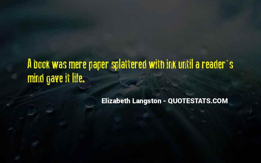 M Langston Quotes #742533