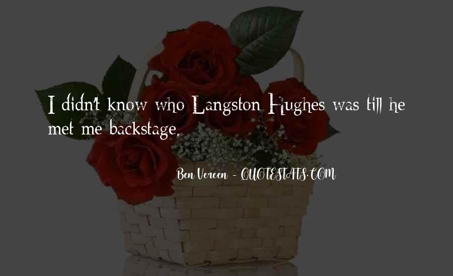 M Langston Quotes #785418