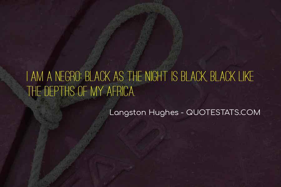 M Langston Quotes #806743