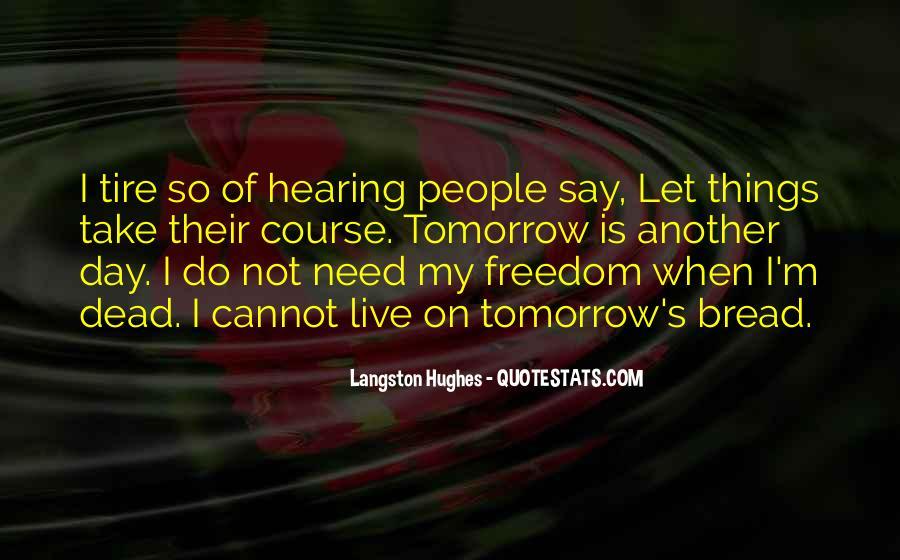 M Langston Quotes #824045