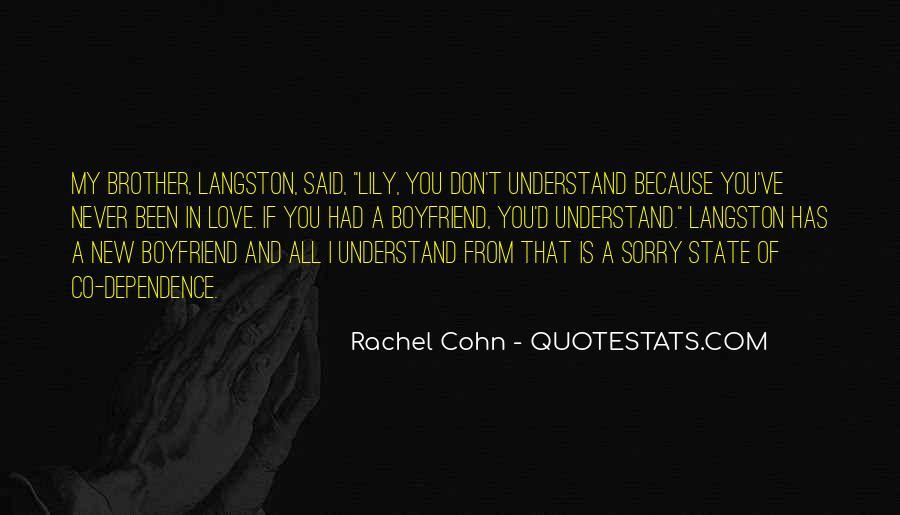 M Langston Quotes #824559