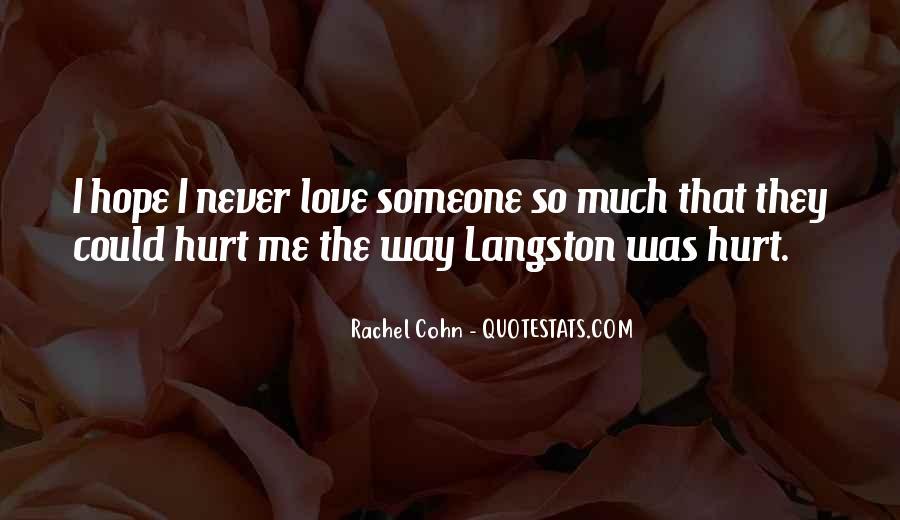 M Langston Quotes #927816