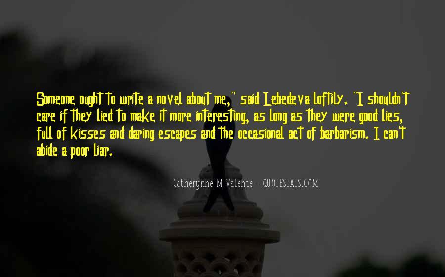 M'aiq The Liar Quotes #1325501