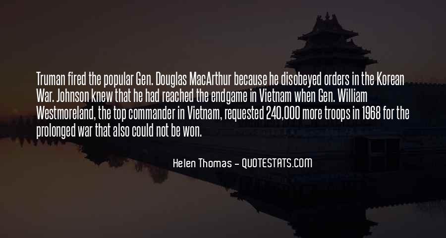 Macarthur Korean Quotes #122890