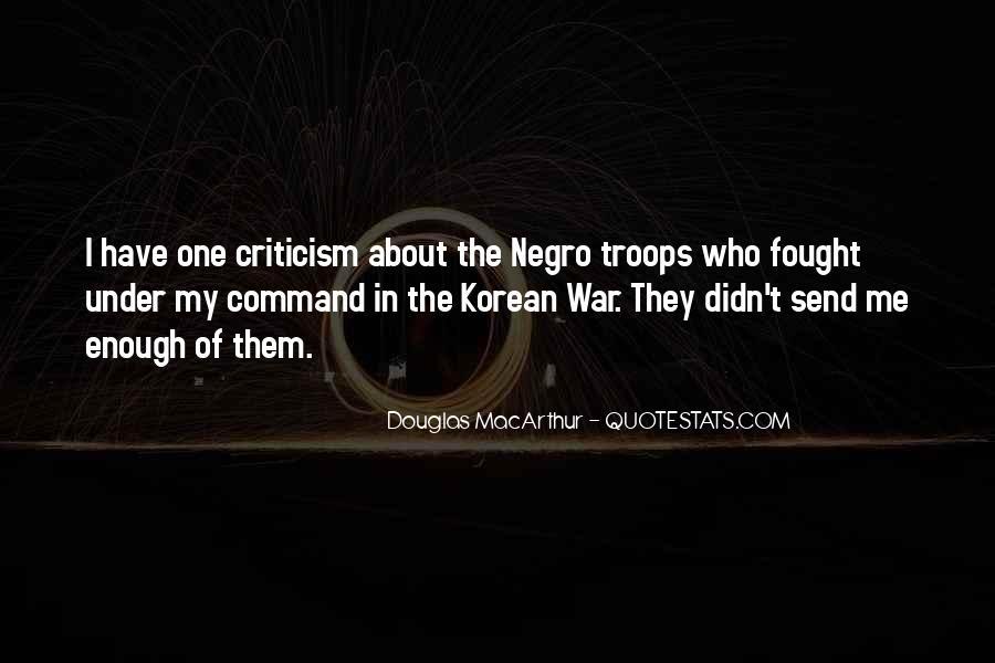 Macarthur Korean Quotes #1395116