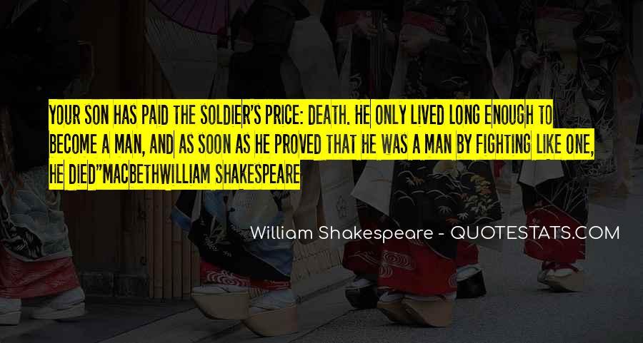 Macbeth's Quotes #1008994