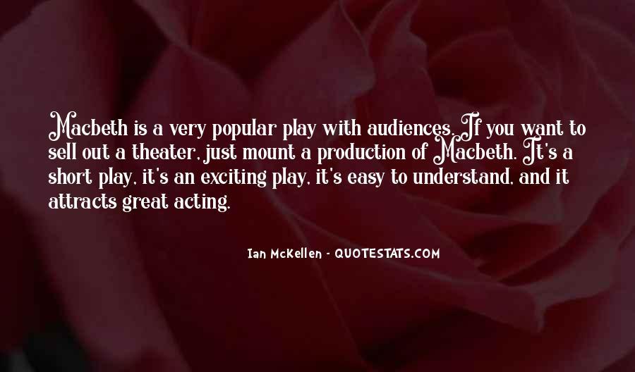 Macbeth's Quotes #1420523