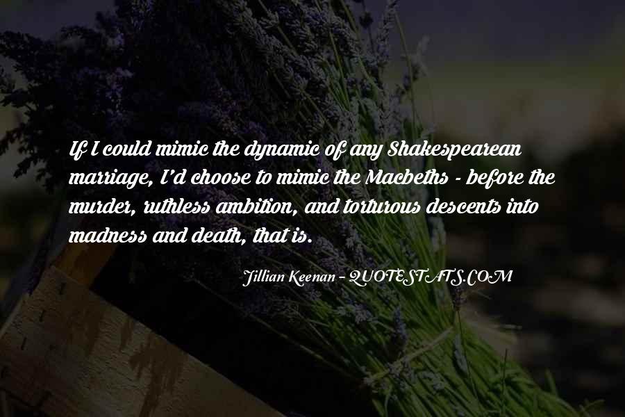 Macbeth's Quotes #154335
