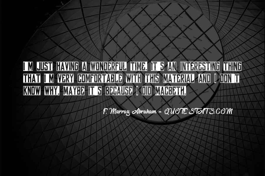 Macbeth's Quotes #1547781