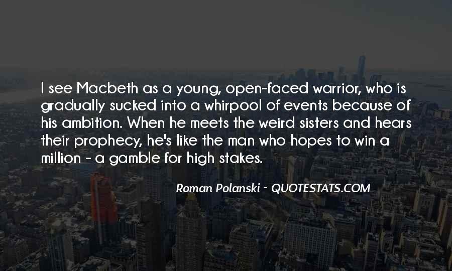 Macbeth's Quotes #1559749