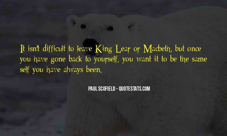 Macbeth's Quotes #162922