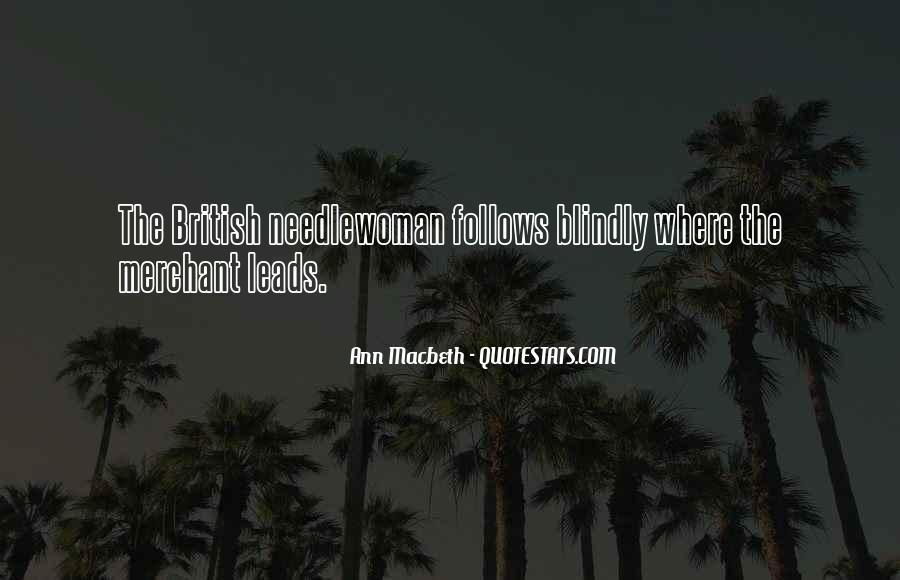 Macbeth's Quotes #221617
