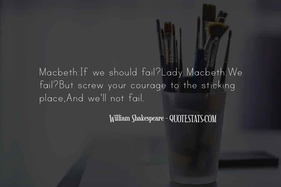 Macbeth's Quotes #259469