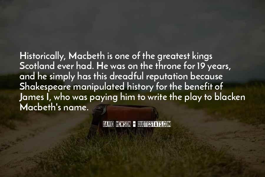 Macbeth's Quotes #379459