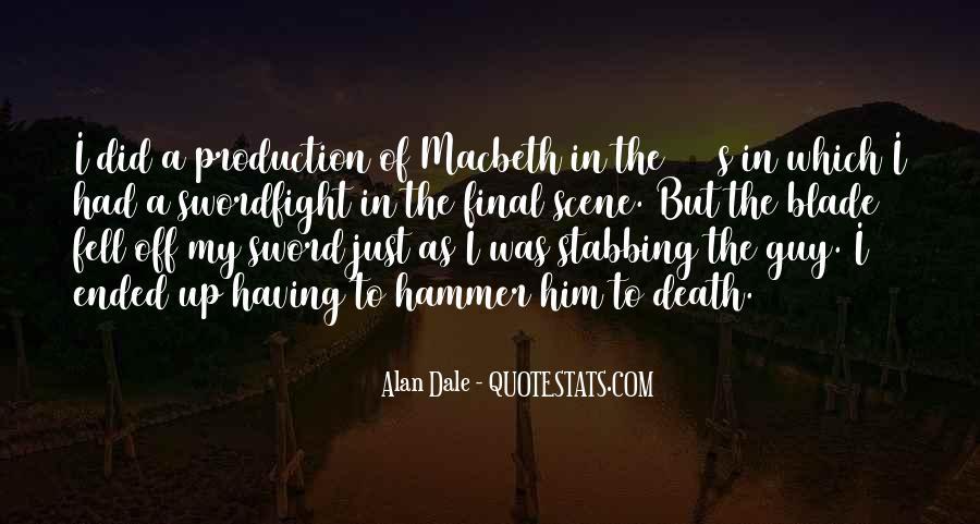 Macbeth's Quotes #456609