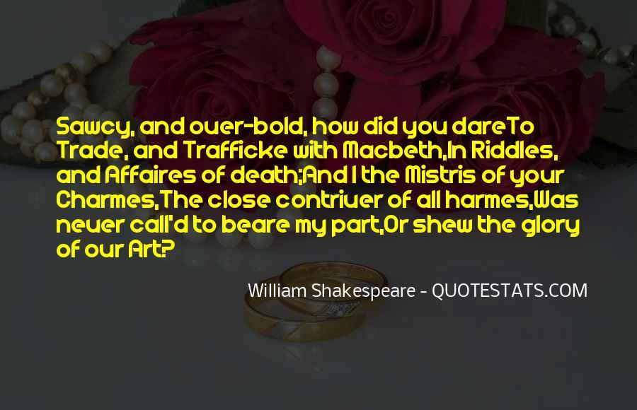 Macbeth's Quotes #509492